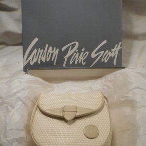 Handbags - Liz Claiborne Beige Leather Crossbody Bag Purse